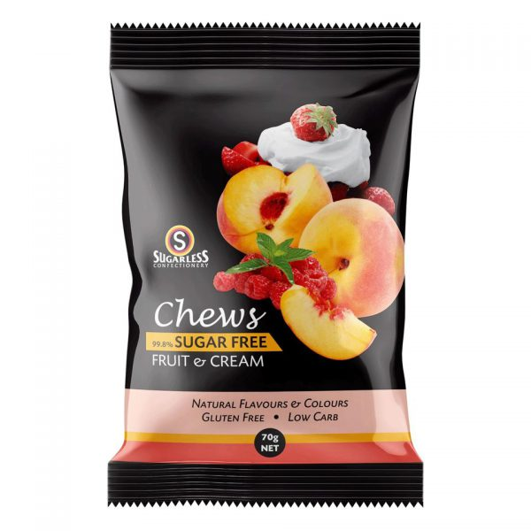 #66 Fruit _ Cream_Australian Chews_70g