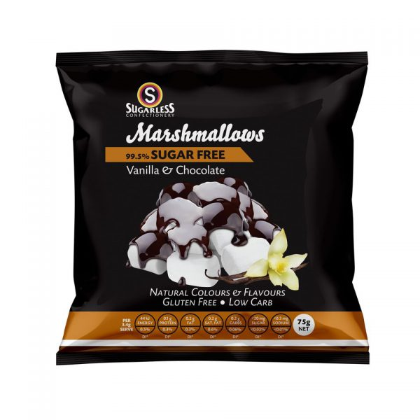 #76 dark chocolate marshmallows